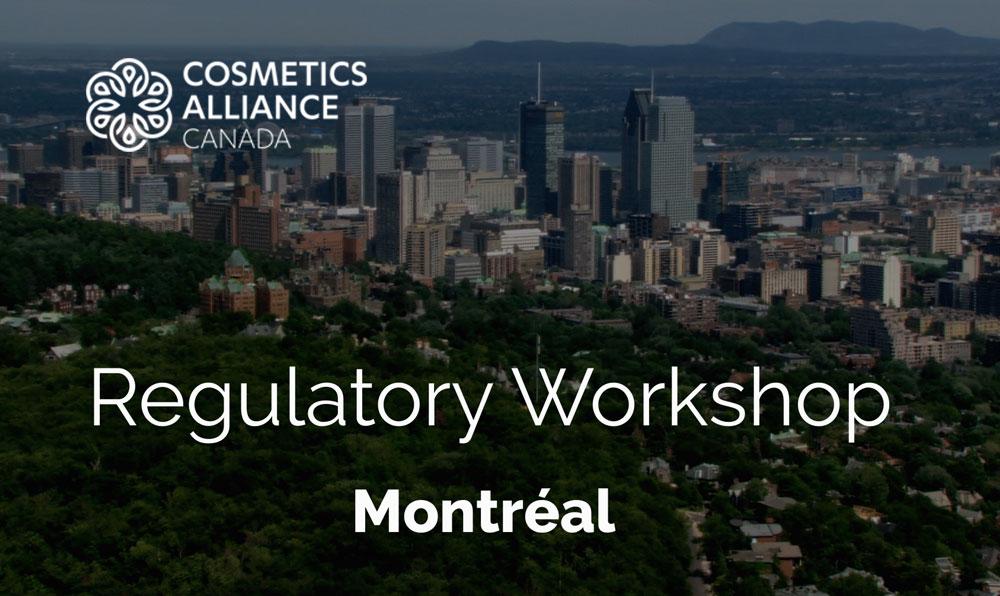 Regulatory Workshop - spring